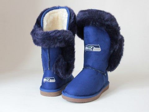 "Seattle Seahawks Women's Cuce Official NFL ""Champions"" Boots"