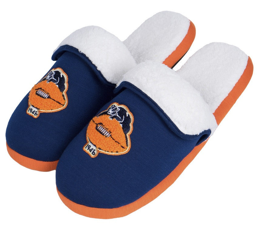 Chicago Bears Official NFL Retro Slide Slipper
