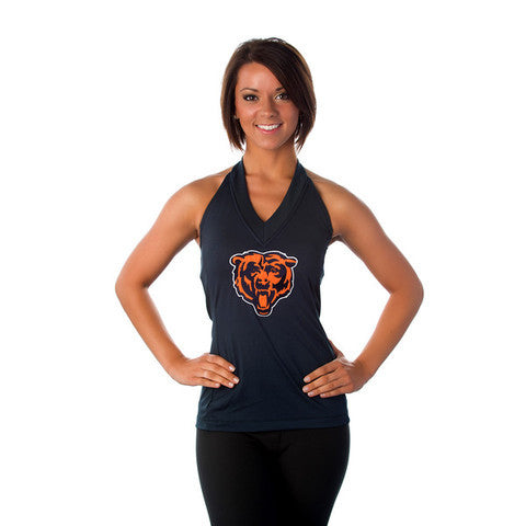 "Chicago Bears Women's Official NFL ""Blown Coverage"" Halter"