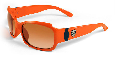 Chicago Bears Women's Official NFL Sunglasses and Free Micro Fiber Matching Case