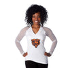 "Chicago Bears Women's Official NFL ""Wildkat"" White Top"