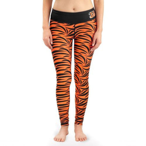 Cincinnati Bengals Womens Official NFL Thematic Leggings