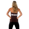 "Cleveland Browns Women's Official NFL ""Blown Coverage"" Halter"