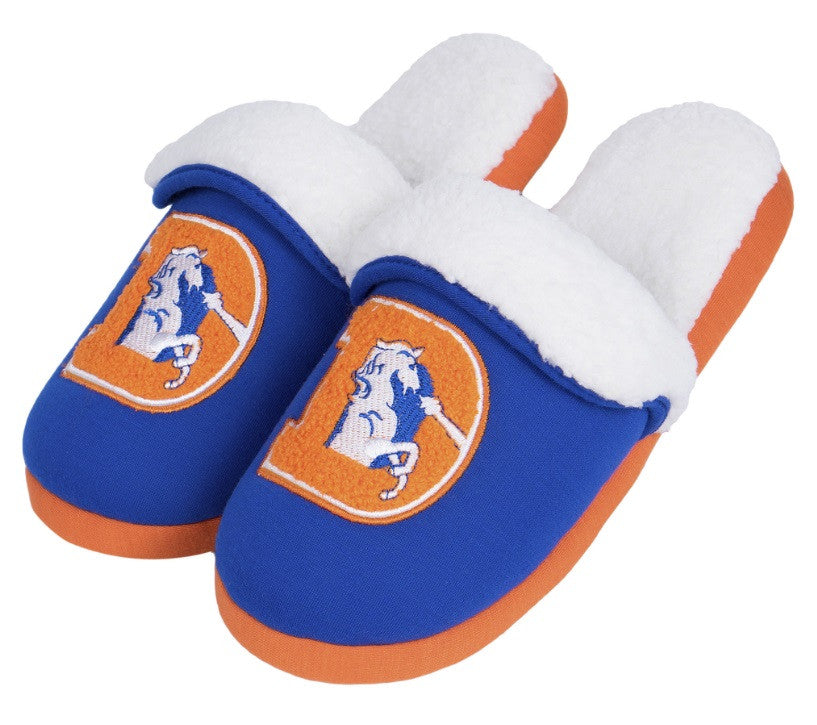 Denver Broncos Official NFL Retro Slide Slipper