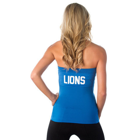 "Detroit Lions Women's Official NFL ""Blown Coverage"" Halter"