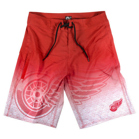 Detroit Red Wings Official NHL Board Shorts