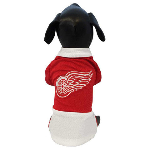 Detroit Red Wings Official NHL Dog Mesh Jersey