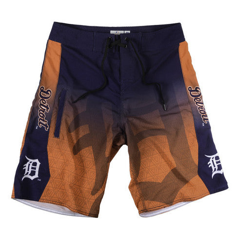 Detroit Tigers Official MLB Board Shorts