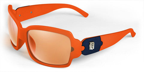 Detroit Tigers Women's Bombshell MLB Sunglasses and Free Micro Fiber Matching Case