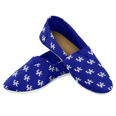 Kentucky Wildcats Official NCAA Womens Canvas Slip-on Shoes