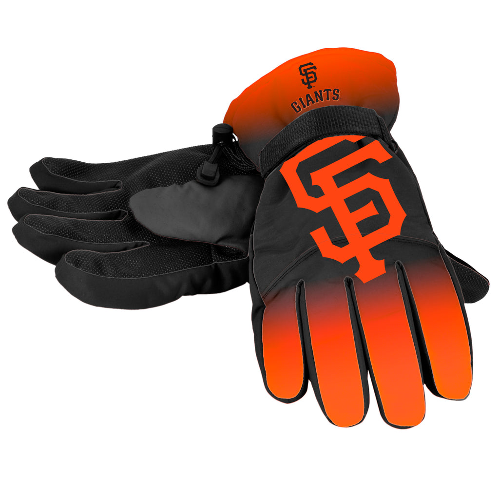 San Francisco Giants Official MLB Gradient Big Logo Insulated Gloves