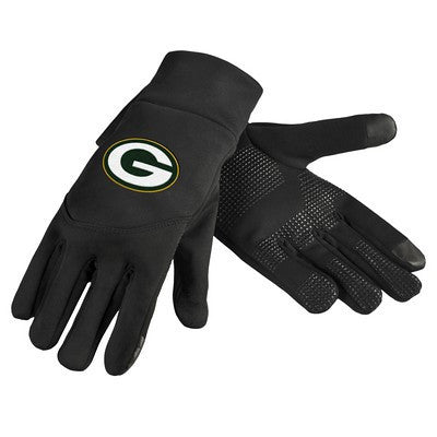 Green Bay Packers Official NFL Team Logo Texting Gloves
