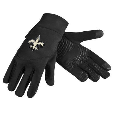 New Orleans Saints Official NFL Team Logo Texting Gloves