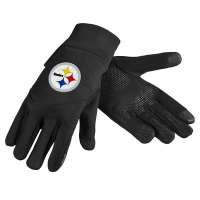 Pittsburgh Steelers Official NFL Team Logo Texting Gloves