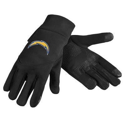 San Diego Chargers Official NFL Team Logo Texting Gloves