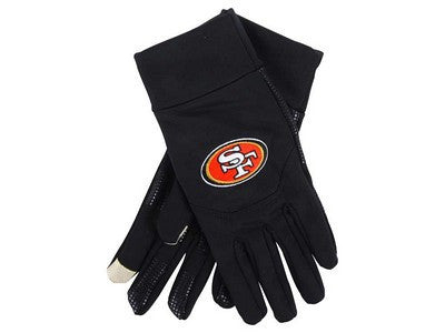 San Francisco 49Ers Official NFL Team Logo Texting Gloves