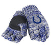 Indianapolis Colts Official NFL Team Logo Peak Gloves