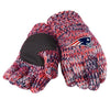 New England Patriots Official NFL Team Logo Peak Gloves