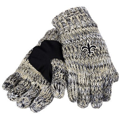 New Orleans Saints Official NFL Team Logo Peak Gloves