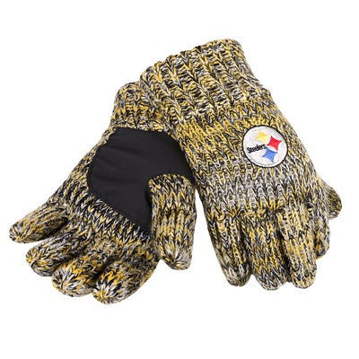Pittsburgh Steelers Official NFL Team Logo Peak Gloves