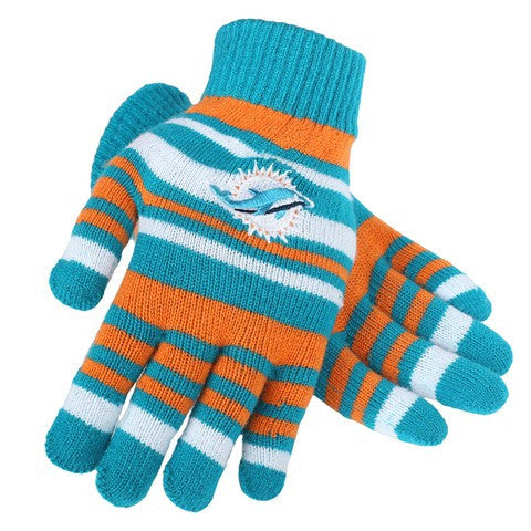 Miami Dolphins Official NFL Stretch Glove