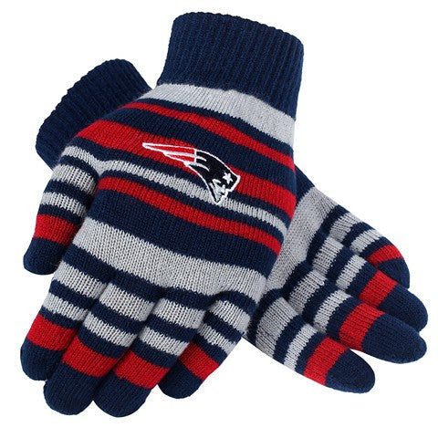 New England Patriots Official NFL Stretch Glove