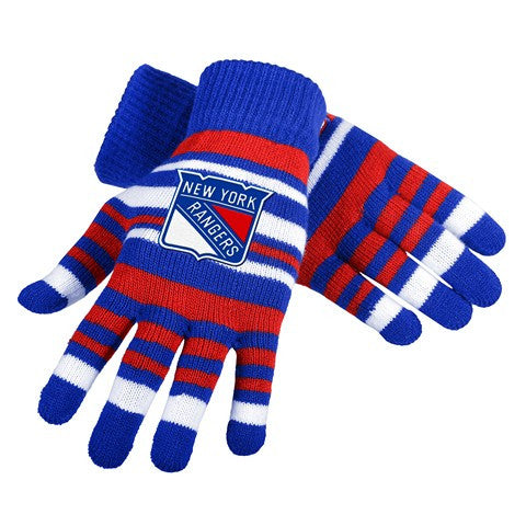 New York Rangers Official NHL Stretch Glove