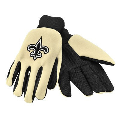 New Orleans Saints Official NFL 2015 Utility Gloves - Colored Palm