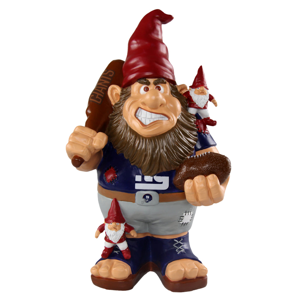 New York Giants Official NFL Caricature Gnome (PRE ORDER: SHIPS EARLY TO MID SEPTEMBER)