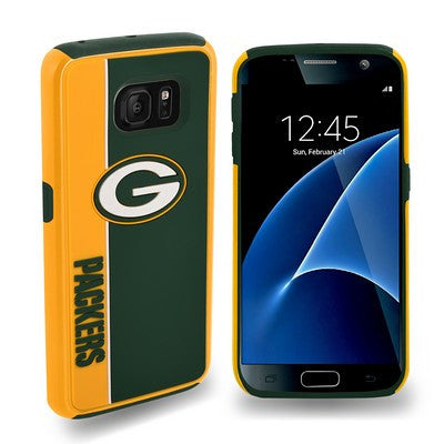 Green Bay Packers Official NFL Bold Dual Hybrid Sg7 Edge Phone Case Tpu
