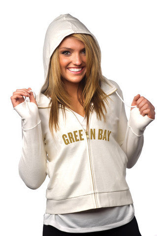 "Green Bay Packers Women's Official NFL ""PlayAction"" Hoodie"