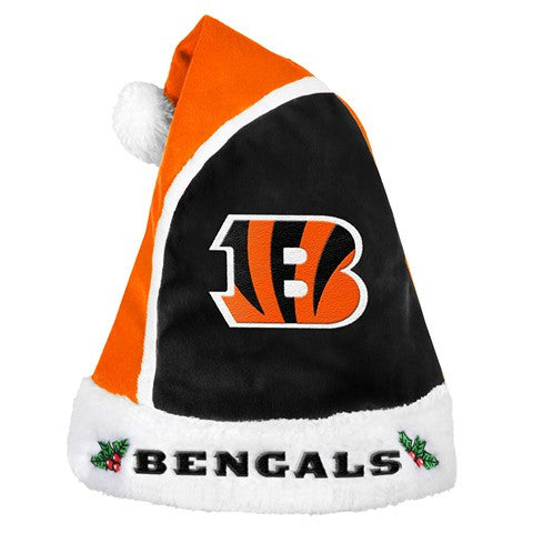 Cincinnati Bengals Official NFL 2015 Holiday Santa Hat