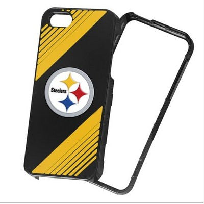 Pittsburgh Steelers 2-piece Snap-on Official NFL Iphone 5 5s Polycarbonate Case - Retail Packaging