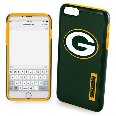 Green Bay Packers Impact Dual Hybrid Ai6 Cover Official NFL Impact Dual Hybrid Cover Tpu 2 Piece (TPU (2 PIECE))