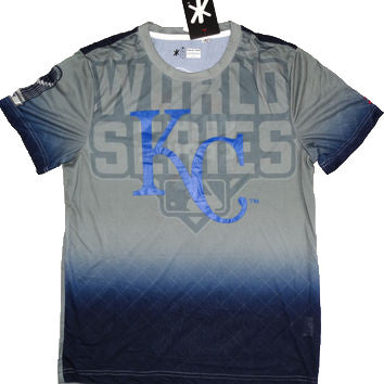 Kansas City Royals Official MLB 2015 World Series Champions T-Shirt