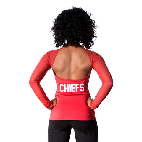 "Kansas City Chiefs Women's Official NFL ""Wildkat"" Top"