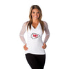 "Kansas City Chiefs Women's Official NFL ""Wildkat"" White Top"