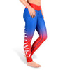 Kansas Jayhawks Womens Official NCAA Gradient Print Leggings