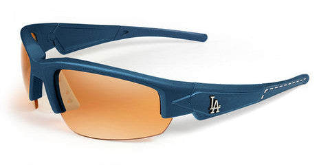 LA Dodgers Men's Official MLB Sunglasses and Free Micro Fiber Matching Case