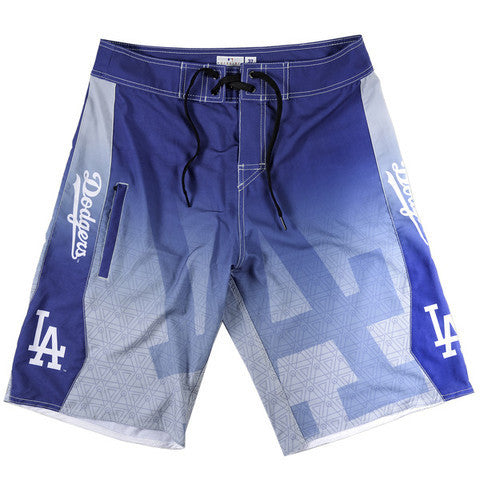 LA Dodgers Official MLB Board Shorts
