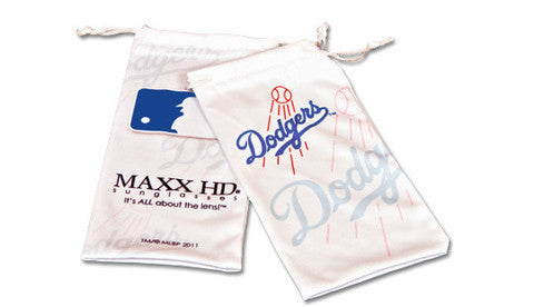 LA Dodgers Women's Official MLB Bombshell Sunglasses and Free Micro Fiber Matching Case