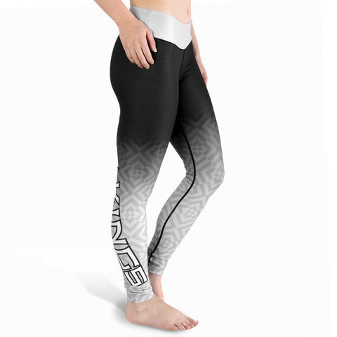 LA Kings Womens Gradient Print Leggings