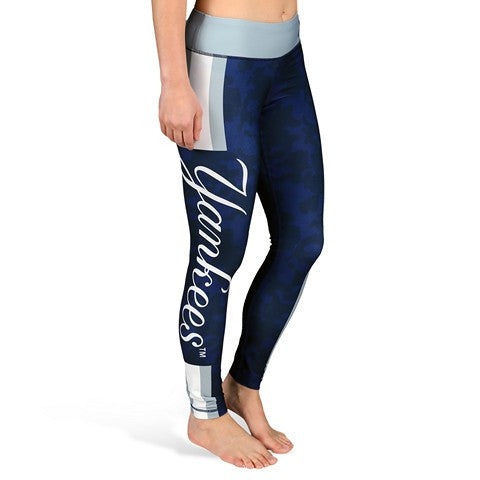 New York Yankees Official MLB Stripe Leggings
