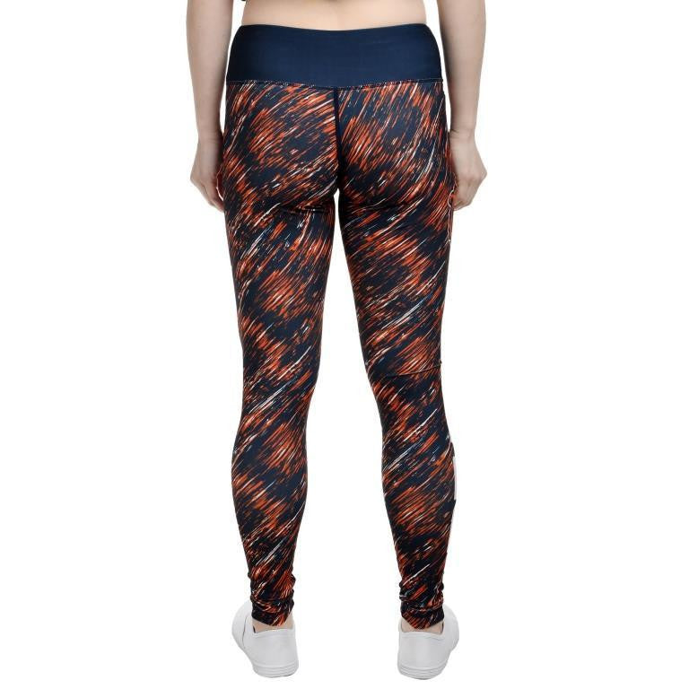 Chicago Bears Official NFL Static Rain Leggings - Womens