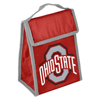 Ohio State Buckeyers Official NCAA Big Logo Velcro Lunch Bag