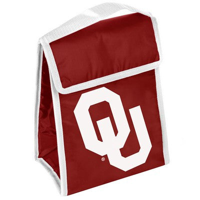 Oklahoma Sooners Official NCAA Big Logo Velcro Lunch Bag