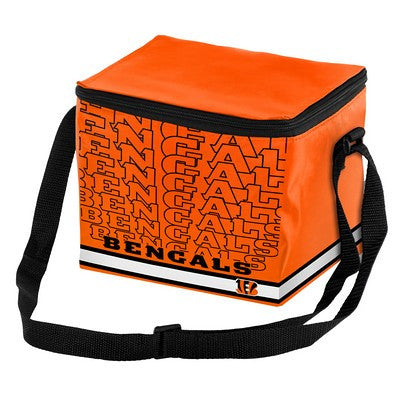 Cincinnati Bengals Official NFL Impact 6-pack Cooler