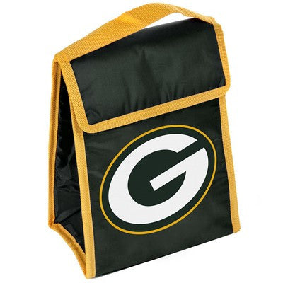 Green Bay Packers Official NFL Big Logo Velcro Lunch Bag