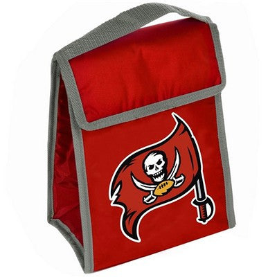 Tampa Bay Buccaneers Official NFL Big Logo Velcro Lunch Bag
