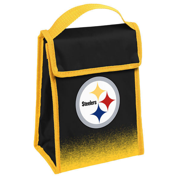 Pittsburgh Steelers Official NFL Gradient Velcro Lunch Bag